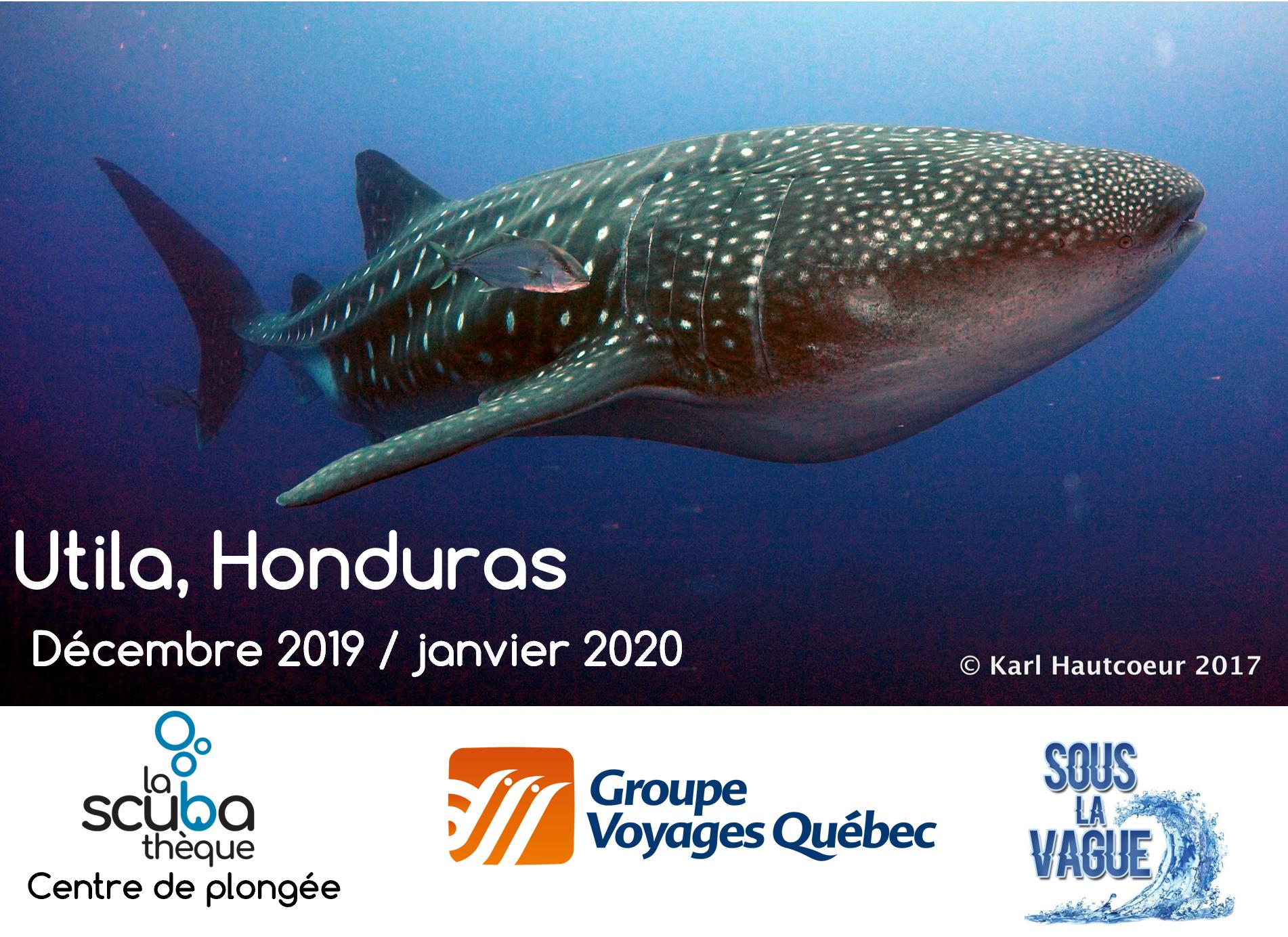 Voyage à Utila au Honduras - Février 2020 - Demande de réservation