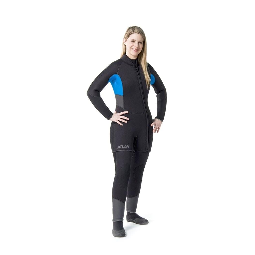 Combinaison isotherme Atlan Flextec Combo 7mm avec joints Étanches pour femme