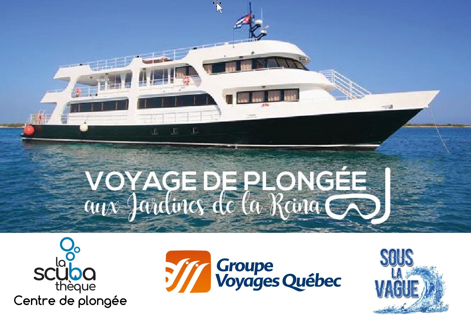 Voyage de plongée aux Jardines de la Reina à Cuba  - Mai 2020 - Demande de réservation
