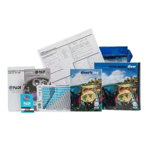 Ensemble pédagogique PADI ''Open Water Diver'' version TPL impérial