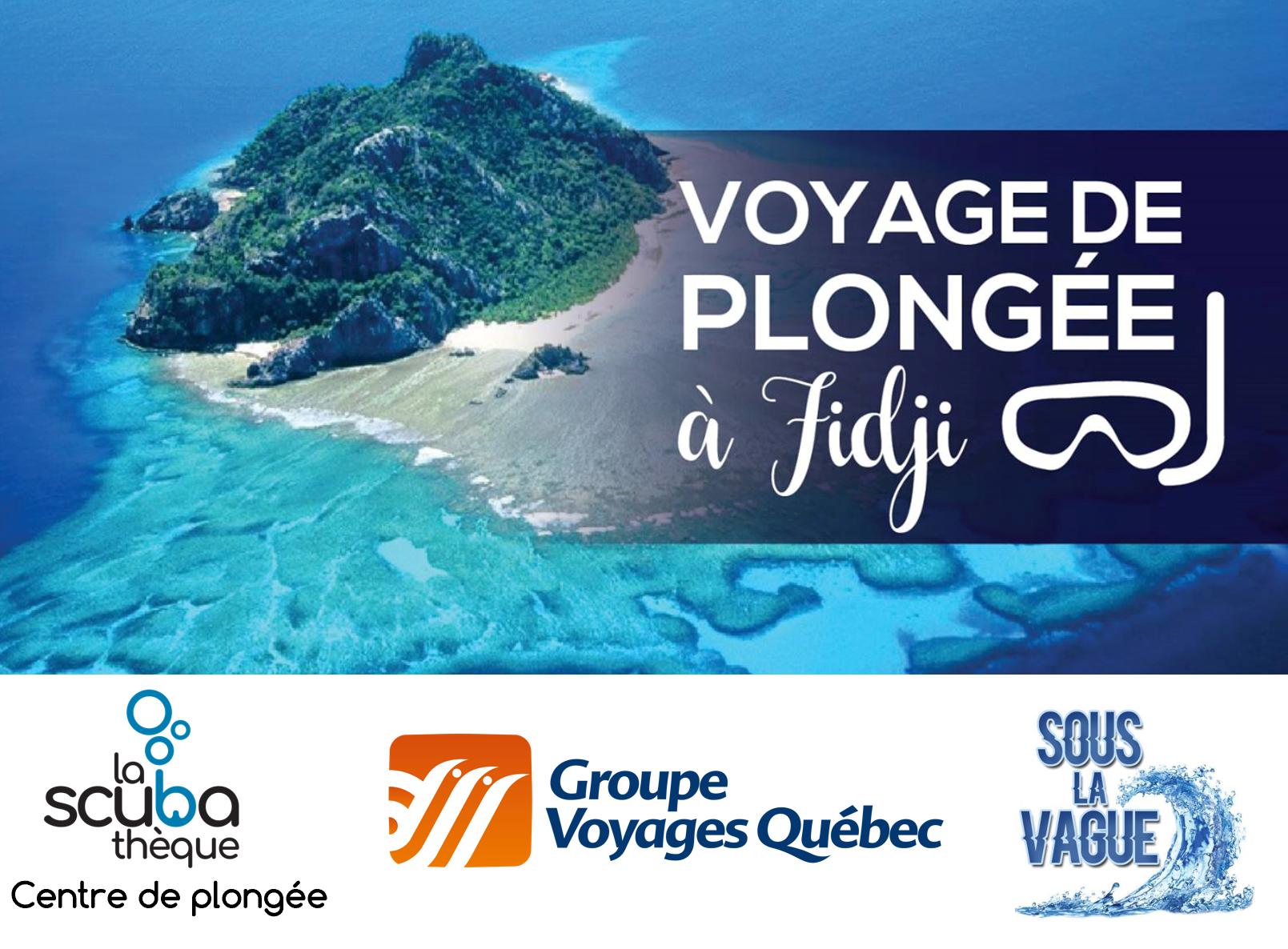 Voyage de plongée à Fidji  - Septembre 2020 - Demande de réservation
