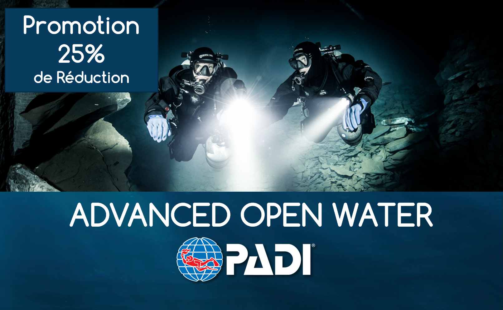 Advanced Open Water Diver PADI - Québec Permis Classe B