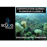 Certification permis du Québec Classe A  - Sur demande (pour plongeur déjà certifié)