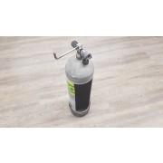 Cylindre de plongée recyclé en porte papier de toilette