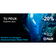 Advanced Open Water Diver PADI - Prochaine date le 28 mai 2020