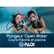 Plongeur Open Water PADI - Théorie & Piscine)