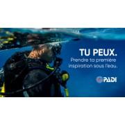 Initiation à la plongée sous-marine (PADI DSD) - Sur demande