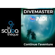 Divemaster PADI  Niveau Professionnel - Prochaine date 7 octobre 2021