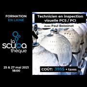 Cours (en ligne) technicien inspection visuelle PSI / PCI  (prochaine date le 25 mai 2021)