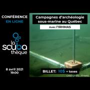 Conférence en ligne sur l'archéologie sous-marine avec Vincent Delmas de l'IRHMAS - 8 avril 2021