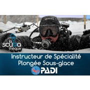 Instructeur de Spécialité PADI - Plongée sous glace - Valley FieId (théorie à Québec et à Valleyfield)