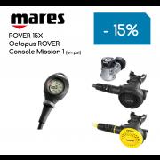 Ensemble Détendeur MARES ROVER 15X / Octopus ROVER / Console Mission 1 (en PSI)