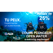 Open Water eLearning - Seulement