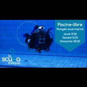 Piscine-libre pour la plongée sous-marine (droit d'accès pour 2 personnes)