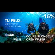 Plongeur Open Water PADI - Théorie & Piscine (sur fin de semaine)