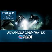 Advanced Open Water Diver PADI - Québec Permis Classe B