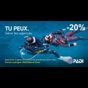 Rescue Diver PADI - Flintkote (prochaine date 9 juin 2020)