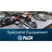 Spécialité Équipement - PADI (prochaine date 24 octobre 2019)