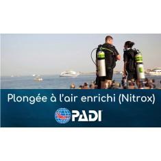 Plongeur à l'air enrichi (NITROX) - Spécialité PADI (prochaine date 3 septembre 2019)