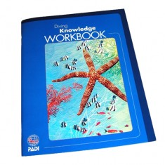 Manuel PADI ''diving knowledge workbook''