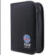 Cartable en nylon PADI pour carnet de plongée (logbook) ou manuel d'instructeur