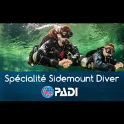 Sidemount Diver - Spécialité PADI - Prochaine date 10-11 juillet 2021