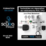 Cours (en ligne) technicien en réparation de robinetterie PSI / PCI  (prochaine date le 18 mai 2021)