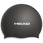 Casque de bain en silicone Head noir