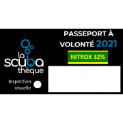 PASSEPORT NITROX 32% / AIR À VOLONTÉ