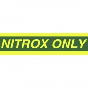 "Collant ""Nitrox Only"" 23"" Trident"