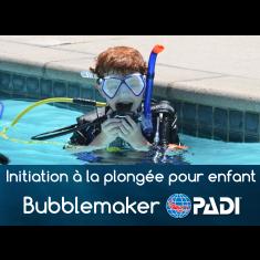 Initiation à la plongée pour enfant - PADI Bubblemaker (8 ans et +)