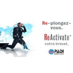 Remise à niveau - PADI ReActivate - Sur demande